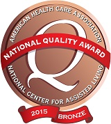 National Quality Award- 2015 Bronze